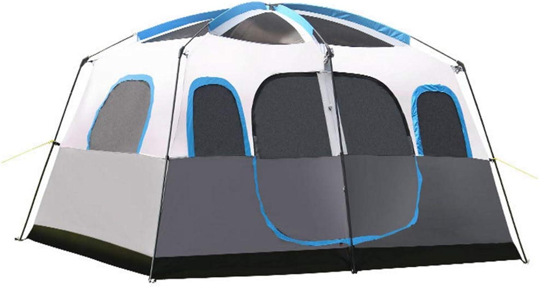 LYX Auenzelt Kamel Zelt Im Freien Camping 8 Personen 10 Personen 12 Personen Zwei Zimmer Eine Halle Multi-Person Camping Regen Zelt Camping Reisen