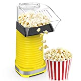 Fast Hot Air Popcorn Popper With Top Cover,Electric Popcorn Maker Machine,Healthy & Delicious Snack For Family Gathering,Easy To Clean,ETL Certified,Safe