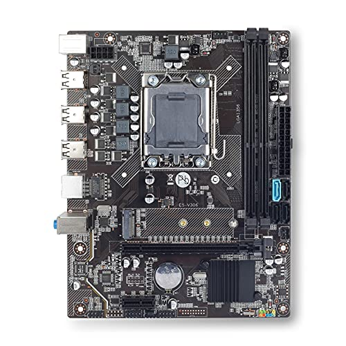 Placa Base Fit for computadora Compatible con X9A X79 Placa Base Placa Base Xeon LGA 1356 E5 2420 CPU 2X 4GB = 8GB 1333Mhz DDR3 ECC REG disipador de Calor Memoria RAM USB PC3