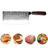 Scharf messerset Edelstahl-Kochmesser Schmieden Anti-Stick Sharp Cleaver Fisch Gemüse Chinesisches Küchenmesser Haushalt Werkzeuge Kochen