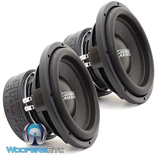 Two SA-10 D4 REV.3 - Sundown Audio 10  Dual 4-Ohm 750W RMS SA Series Subwoofers