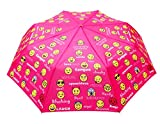Sun Umbrella Multi Folding Umbrella (Emoticons Windproof 3 Fold)