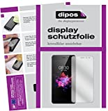 dipos I 2X Schutzfolie klar kompatibel mit TP-LINK Neffos X1 Lite Folie Bildschirmschutzfolie
