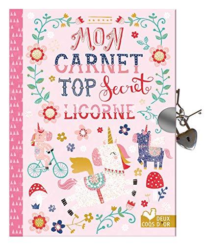 Mon carnet top secret licornes