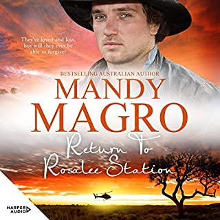 Return to Rosalee Station                   By:                                                                                                                                 Mandy Magro                               Narrated by:                                                                                                                                 Louise Crawford                      Length: 11 hrs and 8 mins     Not rated yet     Overall 0.0