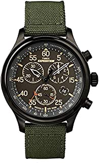 Timex Men's Expedition Field Chronograph 43mm Watch TW4B10300