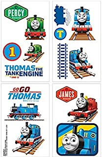 Thomas & Friends Tattoos ~ Thomas the Tank Engine Est. 1945! (16 Tattoos, 1 Sheet)