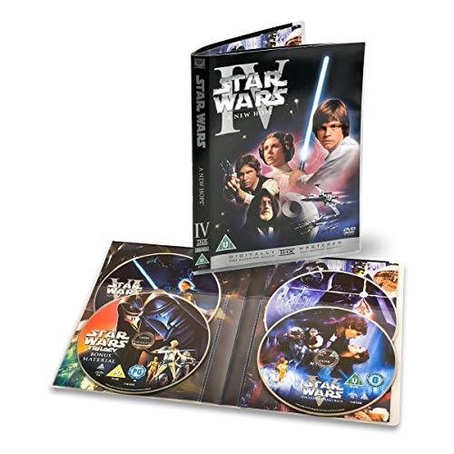 3L 4fach DVD Hüllen mit Platz für 4 DVDs mit Covertasche – 10 Stück - Praktische & Platzsparende Aufbewahrung - 10288