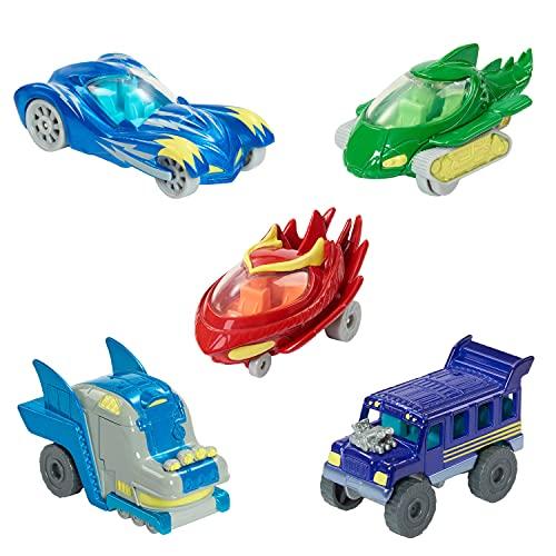 Just Play PJ Masks Die-cast Vehicles, 5 Vehicles