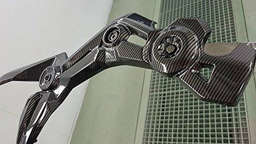 Wassertransferdruck Folie Reacl Carbon 2.0 - 1 Meter x 50 cm Breite Wassertransferdruckfilm