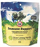 Silver Lining Herbs Equine Immune Support, Natural Herbal Support Helps Aid and Boost a Horses Immune System, Supports Stamina, and Endurance, 8 Ounces, Made in The USA