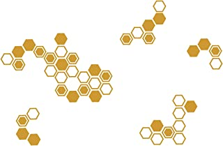 Best honeycomb wall decal Reviews