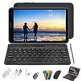 Tablet 8 Pulgadas Baratas y Buenas, 2 in 1 Tablet con Teclado 3GB de RAM y 32 GB de Memoria Escalable 128GB, 4G WiFi...