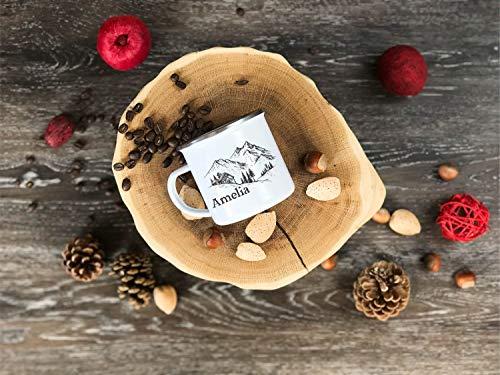 personalizble mug bridesmaid gifts camping