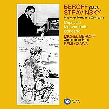 Stravinsky: Music for Piano and Orchestra (Capriccio, Movements & Concerto)