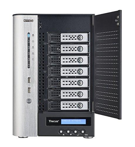 Thecus N7710-G NAS-Server (7-Bay) schwarz