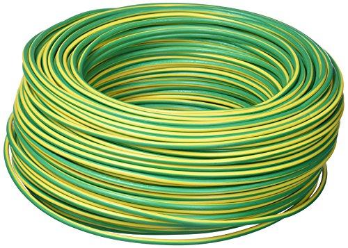 COFAN 51002564 V – kabel (1 x 2,5 mm, 100 m rol, h07 V-k) geel en groen
