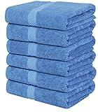 Utopia Towels - 6 Toallas de Gimnasio, Toallas de Piscina (56 x 112 cm) - 500...