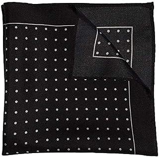 The White Polka Silk Pocket Square