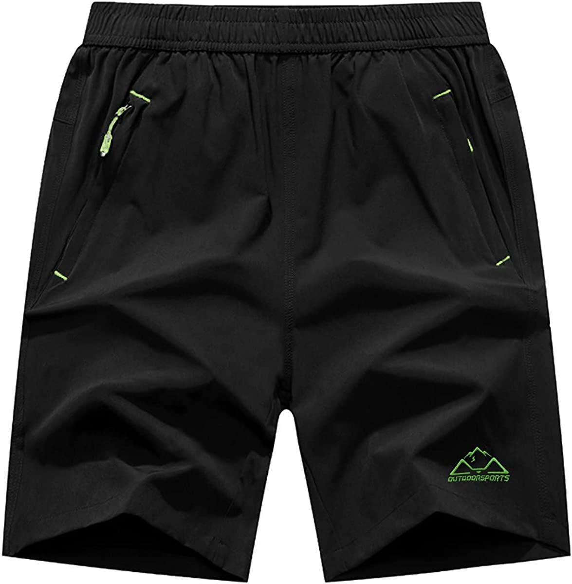 JHMORP Men's Workout Running Shorts Dry Lightweight Quick Fees free Athlet Large special price !!
