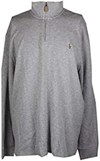 Polo Ralph Lauren Mens Knit Ribbed Trim Polo Sweater