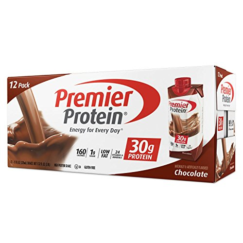Premier Protein High Protein Shake, Chocolate (11 fl. oz., 12 pack) by Premier