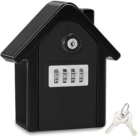Boite A Cle Securisee Key Safe Rangement Securise Avec Code Numerique A 4 Chiffres Boite A Cles Avec Combinaison Numerique Etanche A L Eau Et A La Rouille Coffre Fort Boite A Cle Pour