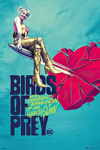 51tHpbXKCBL Harley Quinn Birds of Prey Posters