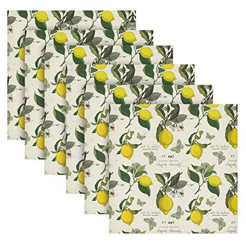 Servilletas de Papel Decoradas con Limones Marca