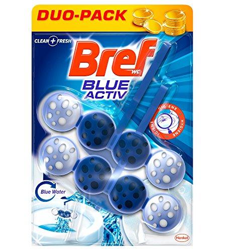 Bref Colgador WC Blue Active Duplo - 100 g