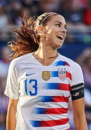 Générique Alex Morgan Etats-Unis Contre Japon 2018 Femmes Football National Tournoi Football Affiche 10773 (A3-A4-A5) - A3