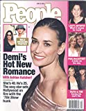 People Weekly Magazine June 16, 2003 Demi Moore on Cover)