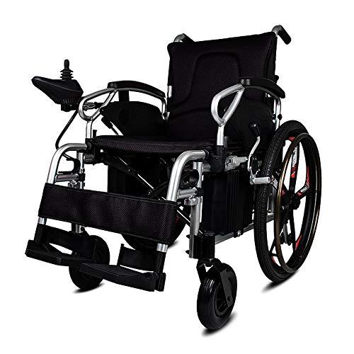 Draagbare Rolstoel lichtgewicht elektrische rolstoelen, Getinte Folding Opvouwbare lichtgewicht Vermogen rolstoelen, Heavy Duty Electric Power Gemotoriseerde rolstoelen, scootmobiel Elektrische rolsto