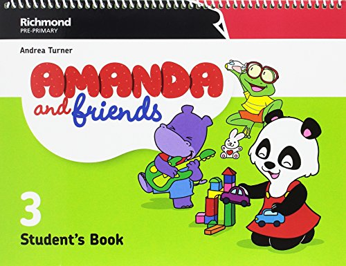 AMANDA & FRIENDS 3 STUDENT'S PACK - 9788466829700