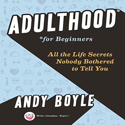 Adulthood for Beginners audiobook cover art