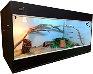 Critter Condo Reptile Cage 48X24X24 Bearded Dragon Cage Lizards Cages Snake Cage