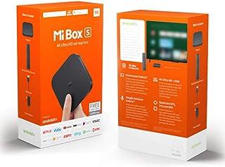 تلفزيون اي بوكس اس اندرويد 2RAM 8 ROM Xiaomi Mi Box S 4K HDR 8.1 2G 8G