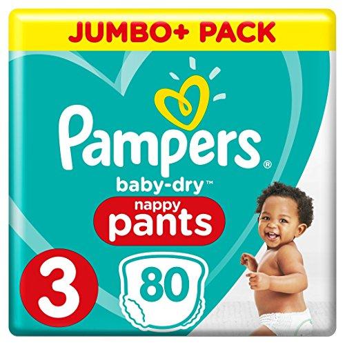 Pampers Baby-Dry Pants Größe 3, Windeln, mit Luftkanälen, 1er Pack