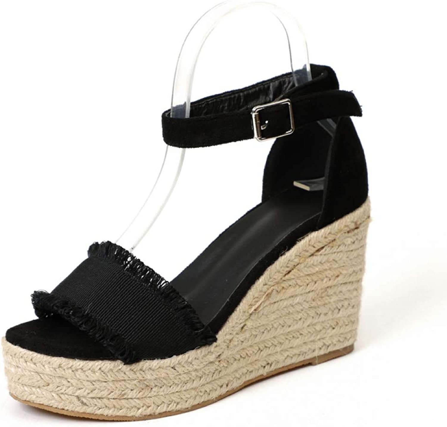Summer Style Women Wedge Sandals Fashion Concise Open Toe Platform High Heels Sandal Ladies Casual shoes