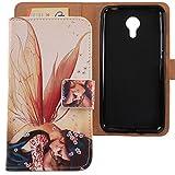 Lankashi PU Flip Leder Tasche Hülle Hülle Cover Schutz Handy Etui Skin Für Acer Liquid Z6 Plus 5.5