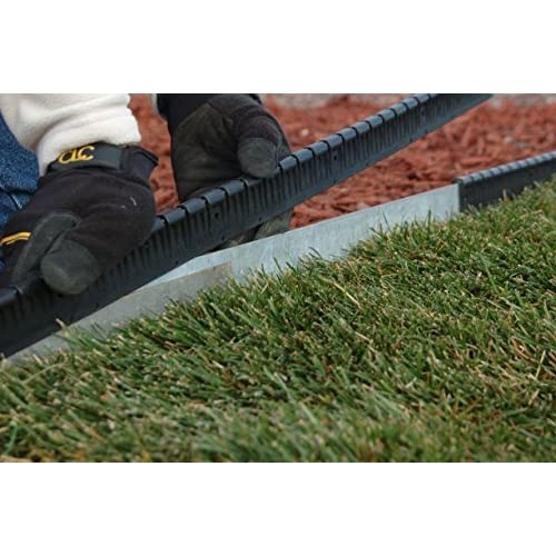 Black Guard-n-Edge Protective Cover for Metal Lawn Edging | Includes 30 Feet - Metal Landscape Edging: Amazon.com