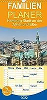 Hamburg Stadt an der Alster und Elbe - Familienplaner hoch (Wandkalender 2022 , 21 cm x 45 cm, hoch): Ein Jahr Hamburg. 13 faszinierende Aufnahmen der Hansestadt an den Fluessen Alster und Elbe (Monatskalender, 14 Seiten )