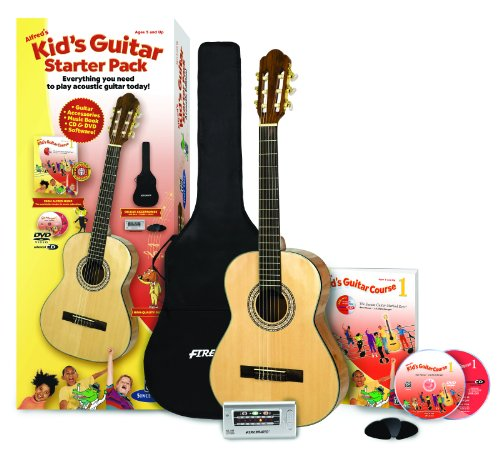 Alfred's Kid's Guitar Starter Pack Course 1: Everything You Need to Play Acoustic Gitar Today! : Acoustic Edition.