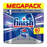 Finish Dishwasher Quantum Powerball Tablets, Regular - 60 Tablets