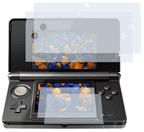 mumbi Schutzfolie kompatibel mit Nintendo 3DS Folie klar, Displayschutzfolie (4X)
