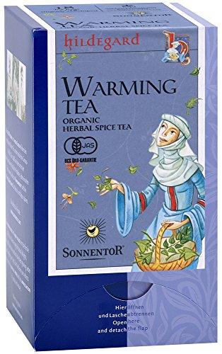 Sonnentor Wärmender Hildegard-Tee Teebeutel, 1er Pack (1 x 20 g) - Bio