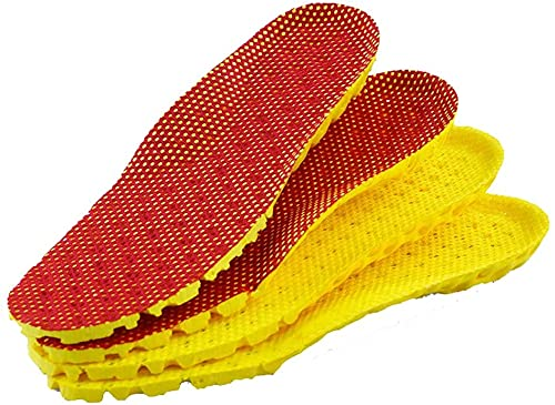 LiuliuBull 1 Pareja de absorción de Choque para niños, Panal Almohadilla de Zapatos Deportivos Transpirable para niños y niñas. Plantillas de absorción de Golpes (Size : EU 26)