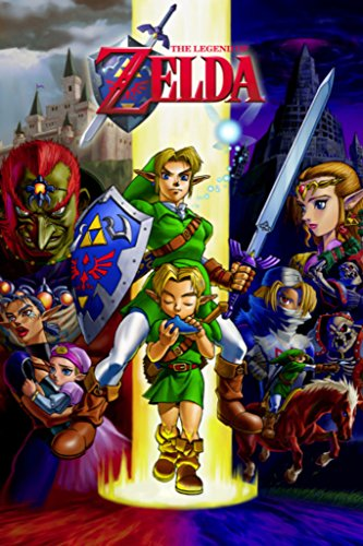 Pyramid America Zelda Ocarina of Time Gaming Cool Wall Decor Art Print Poster 24x36