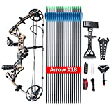 Compound Bow TOPOINTARCHERY M1 Package,...