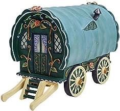 Miniature Dollhouse Fairy Garden - Green Gypsy Caravan - Accessories